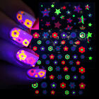 DIY Accessories Manicure Decorations Luminous Nail Art Stickers Adhesive Decals