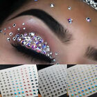 Multifunction 3D Shiny Diamond Sticker Face Body Brow Makeup Crystal Gems Paster