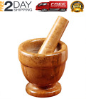 Mortar And Pestle Footed Marble Natural Stone Pestal Set To Grind Food