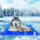 Extra Large Dog Self Cooling Gel Mat Hot SUMMER Cool Bed For Cage Indoor Outdoor
