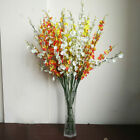 Home Party Decoration Butterfly Orchid Artificial Fack Flowers Floral Ornamental