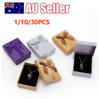 Ring Storage Box Jewellery Gift Box Earring Necklace Display Packaging Case Aus