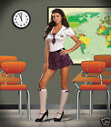 Sexy Adult Halloween DreamGirl Women's Schoolgirl Pam Perdbrat Uniform Costume