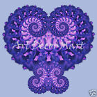 Fractal Art Heart of Love   - CANVAS OR PRINT WALL ART