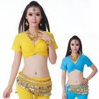 3 Ways to Wear Cotton Belly Dance Blouse Top 12 Colors
