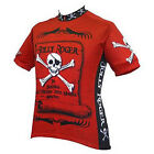 World Jersey Mens Jolly Roger Bike Cycle Bicycle Jersey