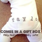 Funky PERSONALISED FRONT & BACK babygrow with GIFT BOX
