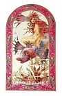 Fantasy Mermaid Rides Fish Quilt Block Multi Sizes