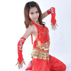 1 Pair Belly Dance M finger Bead Gloves 10 colours