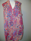 Charter Club Embroidered Front Sleeveless Tunic NWT $60