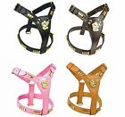REAL LEATHER DOG HARNESS STAFFORDSHIRE BULL TERRIER STAFFIE STAFFY IN 4 COLOURS