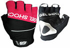 P GEL SHOCK PADDED CYCLING / CYCLE / BIKE / MTB / BICYLE GLOVES / MITTS XS,S,M