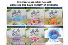 2 GLADE Plugins Scented Oil REFILLS Fit AIR WICK Warmer F...