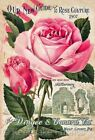 Quilt Block 1907 Rose Catalog Quilt Block Multi Sizes FrEE ShiPPinG WoRld WiDE