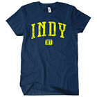 INDY Women's T-shirt Area Code 317 500 Pacer Colt Indianapolis Indiana - S-2XL