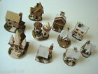 Handmade miniature houses cottages decorative houses