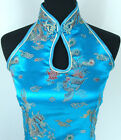 Chinese silk Women's Dress Cheongsam SZ:6.8.10.12.14.16