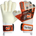 Zoop Goalkeeper Roll Finger Goalie Gloves Adult Size 8/9/10