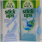 2 Air Wick Stick Ups Fresh Waters, Crisp Breeze or both