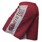 MEISTER MMA CRIMSON RED BOARD SHORTS - LIGHTWEIGHT Fight UFC Boxing S M L XL NEW