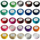 "1 Roll 25 Yards 1"" 25mm Satin Ribbon Craft Bow Wedding Party Decor Colors U Pick"