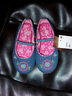 GIRLS ARIZONA BRYN DENIM SHOES WITH FLOWERS AVAILABLE IN SIZE: 5,6,7,8 NEW