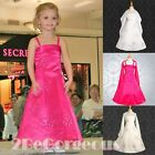 Wedding Flower Girl Bridesmaid Party Communion Occasion Dresses Age 2-12y 026S