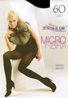 SENTELEGRI 60 DEN MICROFIBRE TIGHTS COLOUR BLACK
