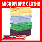 10 Pack Microfibre Cloths Car Detailing Polishing Cleaning M Cloth Towels