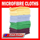 10 Pack Microfibre Cloths Detailing Polishing Cleaning M Cloth Towels