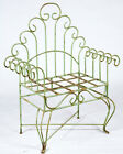 Wrought Iron Eight Spin Bench, Metal Several colors, Patio and Deck Furniture