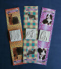 Craft Rubber Dog Stamp Pairs: Yorkie Bernese Shar Pei Huskey Schnauzer & More!!!