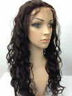 "2# dark brown bodywave full lace wigs indian remy human hair 8""-30"""