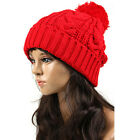 (WC901) TheLees Unisex Casual Pretzel-shaped Beanie Hat Cap Ski