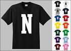 Capital Letter N Alphabet T-Shirt