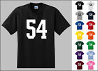 Number 54 Fifty Four T-Shirt