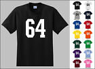 Number 64 Sixty Four T-Shirt