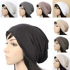 C1005 NEW UNISEX BEANIE KNIT HAT WOMENS MENS CAP SPRING SUMMER COTTON BLACK GRAY