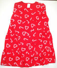 Gymboree NWT COZY CUTIE Red Candy Cane Heart Dress Tiered Twirl 4 4T5 5T 6 7