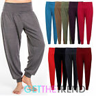 Womens Harem Trousers Ali Baba Ladies Long Pant Baggy Hareem Full Lenght Legging