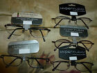 Magnivision Foster Grant Hyperflexx Flexible Distortion Free Reading Glasses New