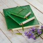 Fair Trade Handmade Eco Friendly Emerald Green Embossed Leather Journal Diary