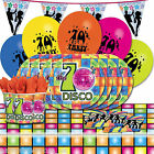 Funky Retro 70's Disco Party Balloons Decorations Tableware One Listing PS