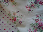 GreenGate Cotton Fabric Dotty Plum or Kristine Plum by the Metre