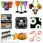 Haunted Halloween Horror Party Tableware Plates Cups Picks All In 1 Listing PS