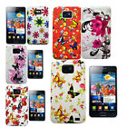 FOR SAMSUNG GALAXY S2 I9100 VARIES FLOWER BUTTERFLY SOFT PHONE CASE COVER *05*