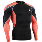 FIXGEAR mens womens skin compression tight top long sleeve gear baselayer shirt