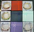 12 - 24 x Jewellery Boxes For Bracelet / Bangle / Watch Embossed 9 x 9 x 2.5cm