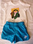 NIKE T/SHIRT AND SHORTS SETS sz 3-6 MONTHS TO 6-7 YEARS BNWT