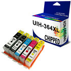 INK CARTRIDGE CHIPPED REPLACE FOR 364XL C5380 C6380 C309a PRINTER